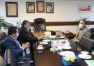 دیدار دلخوش با مدیر شرکت ملی پخش فرآورده های نفتی منطقه گیلان
