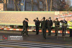 گزارش تصویری رزمایش طرح زمستانی پلیس گیلان
