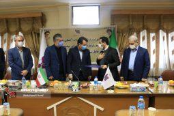 گزارش تصویری مراسم معارفه مدیرعامل جدید شرکت شهرک های صنعتی استان گیلان