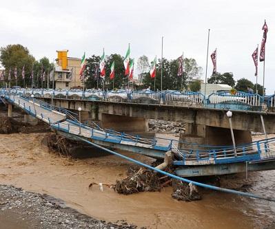 ابلاغ صد میلیارد تومان برای بازسازی تاسیسات آسیب دیده از سیل غرب گیلان