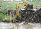 آزادسازی بستر ۲۵ ساله رودخانه البرز در رودسر