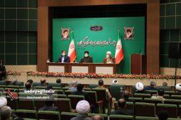 گزارش تصویری جلسه شورای اداری استان گیلان با حضور آیت الله رئیسی