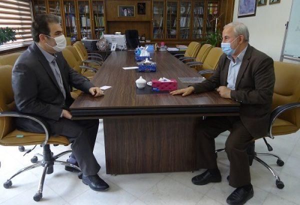 دیدار مدیرعامل شرکت آب منطقه ای گیلان با نماینده مردم رشت در مجلس شورای اسلامی