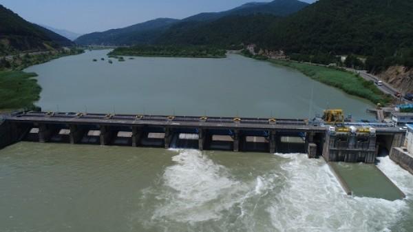 شروع اولین مرحله آبگذاری کانال های آبیاری شبکه سفید رود