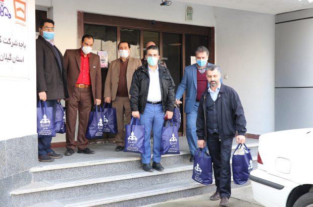 مرحله  ۴ رزمایش کمک مؤمنانه در شرکت گاز استان گیلان
