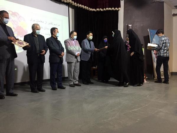 برگزاری آیین گرامیداشت هفته معلم در آموزش و پرورش شهرستان خمام