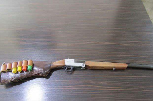 کشف و ضبط سلاح غیرمجاز در رضوانشهر