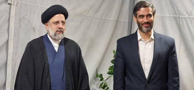 دیدار سردار محمد با حجت الاسلام رئیسی/ستاد سعید محمد شاخه جوانان ستاد رئیسی شد
