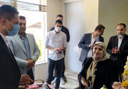 افتتاح دفتر طرح طاها شرکت انبوه سازان آرش در زیباکنار