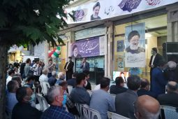 گزارش تصویری تجمع مردم رضوانشهر در حمایت از آیت الله رئیسی