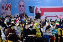 گزارش تصویری شکوه حضور رشتوندان در ستاد انتخاباتی مهندس قنبر همتی