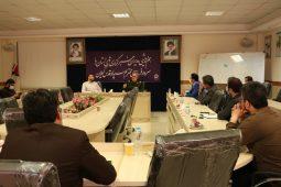 گزارش تصویری نشست سردار عبدالله پور فرمانده سپاه قدس گیلان با مدیران رسانه های تاثیرگذار