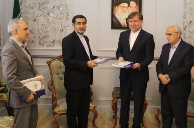 امضاء تفاهمنامه همکاری مشترک سازمان صنایع هوایی با استانداری و دانشگاه گیلان