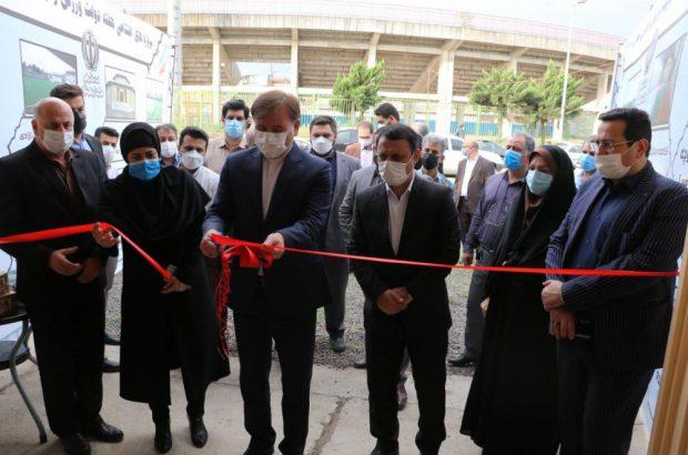 افتتاح همزمان ۳۳ پروژه صنعتی و ورزشی گیلان با حضور استاندار در رشت