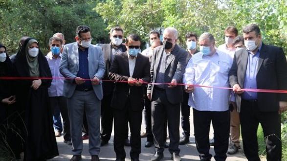۳۵ پروژه عمرانی و خدماتی در بخش سنگر شهرستان رشت افتتاح شد