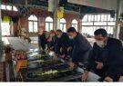 حضور مدیرعامل شرکت شهرک های صنعتی استان گیلان در گلزار شهدا به مناسبت هفته حمایت از صنایع کوچک