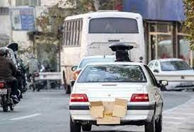 خرید کپسول اکسیژن، جریمه راننده متخلف در لاهیجان