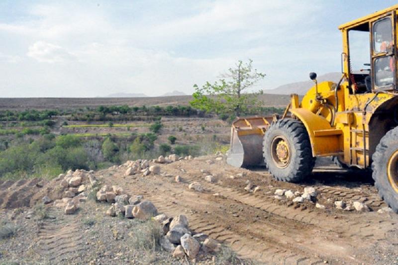 رفع تصرف زمین ۱۱ میلیارد ریالی در شهرستان سیاهکل