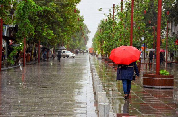 ضعیف شدن سامانه بارشی در گیلان از فردا