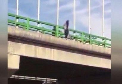ماجرای خودکشی دختر ۲۶ ساله از پل خرمشهر در رشت