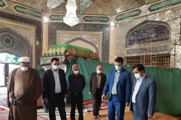 افتتاح حرم مطهر امامزادگان آستارا در ایام اربعین حسینی