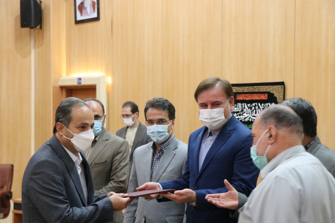 گزارش تصویری مراسم تقدیر از زحمات دکتر کیوان محمدی در جلسه شورای برنامه ریزی استان گیلان