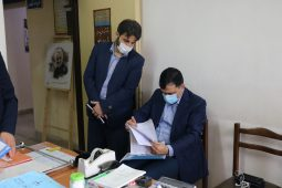گزارش تصویری حضور مدیرکل تعزیرات حکومتی گیلان در شهرستان فومن