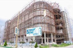 گزارش تصویری پیشرفت پروژه آرش مال منطقه آزاد انزلی (هفته سوم مهر۱۴۰۰)