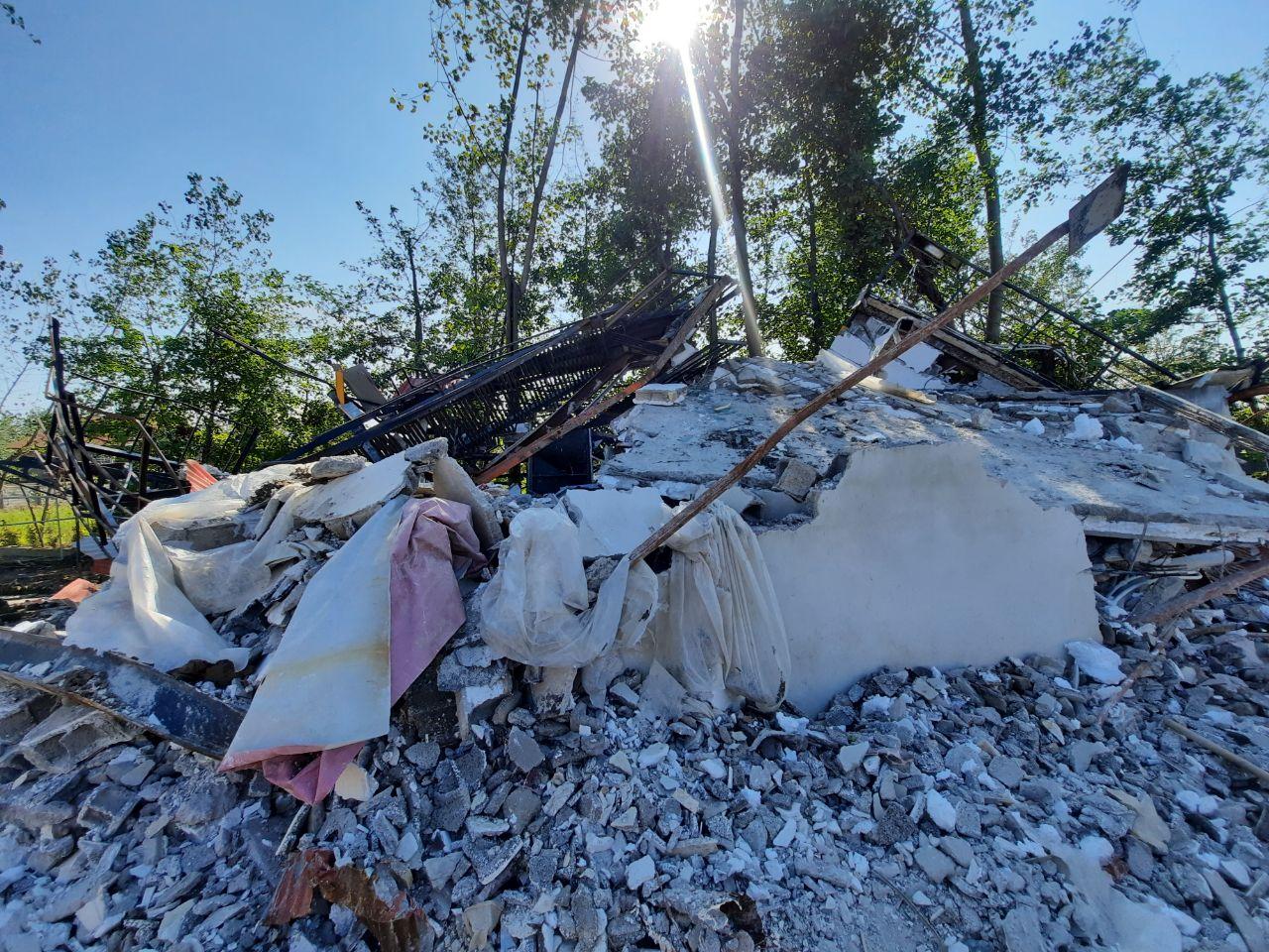 تخریب ویلای یکهزار و ۴۴۰ متری غیرمجاز در رودبنه لاهیجان