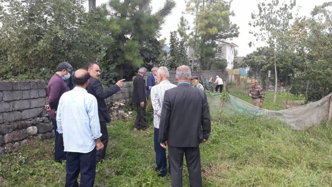 حل اختلاف اهالی دهستان لیسار بخش کرگانرود در گیلان پس از ۳۸ سال